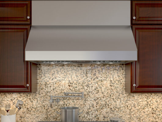 AK75 - Zephyr Tempest II Wall Range Hood with LumiLight LED Lighting