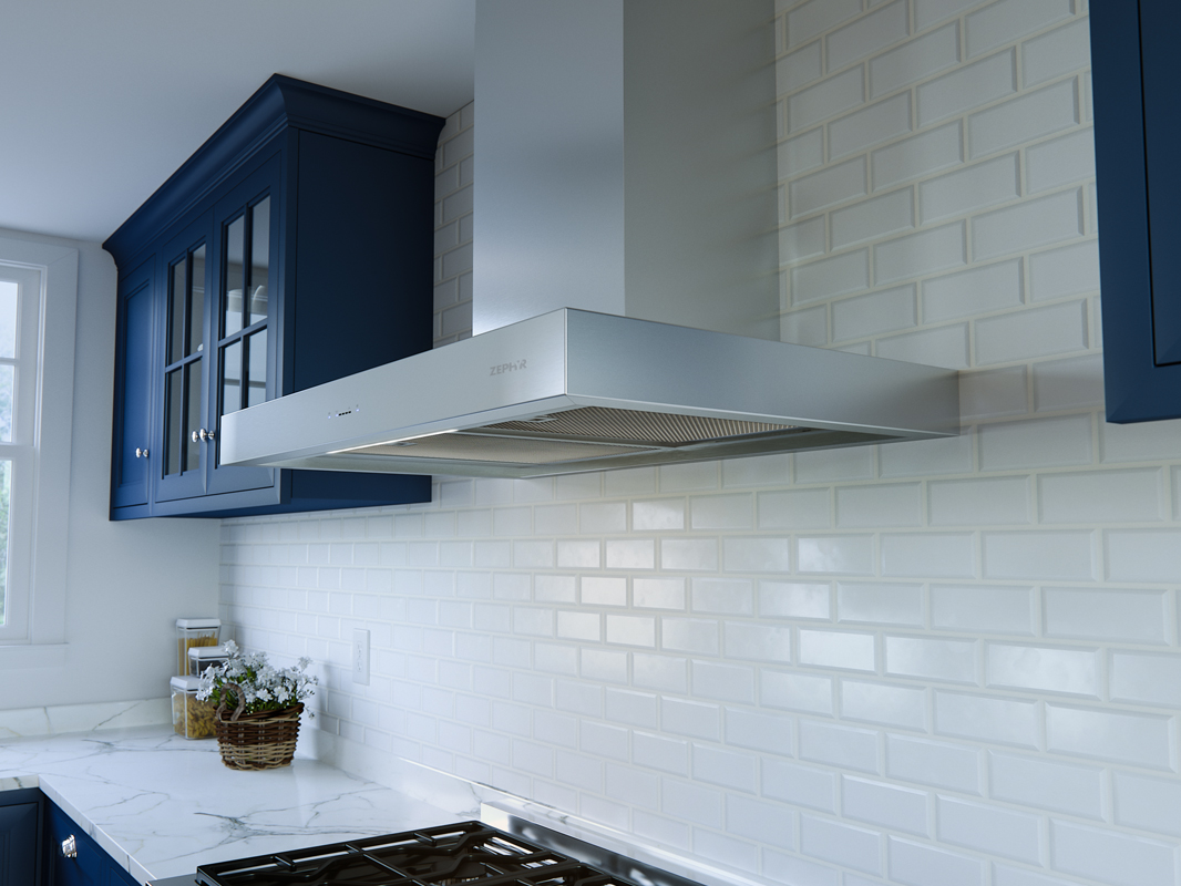 Zephyr Roma Wall Range Hood - Core Collection | Zephyr Online