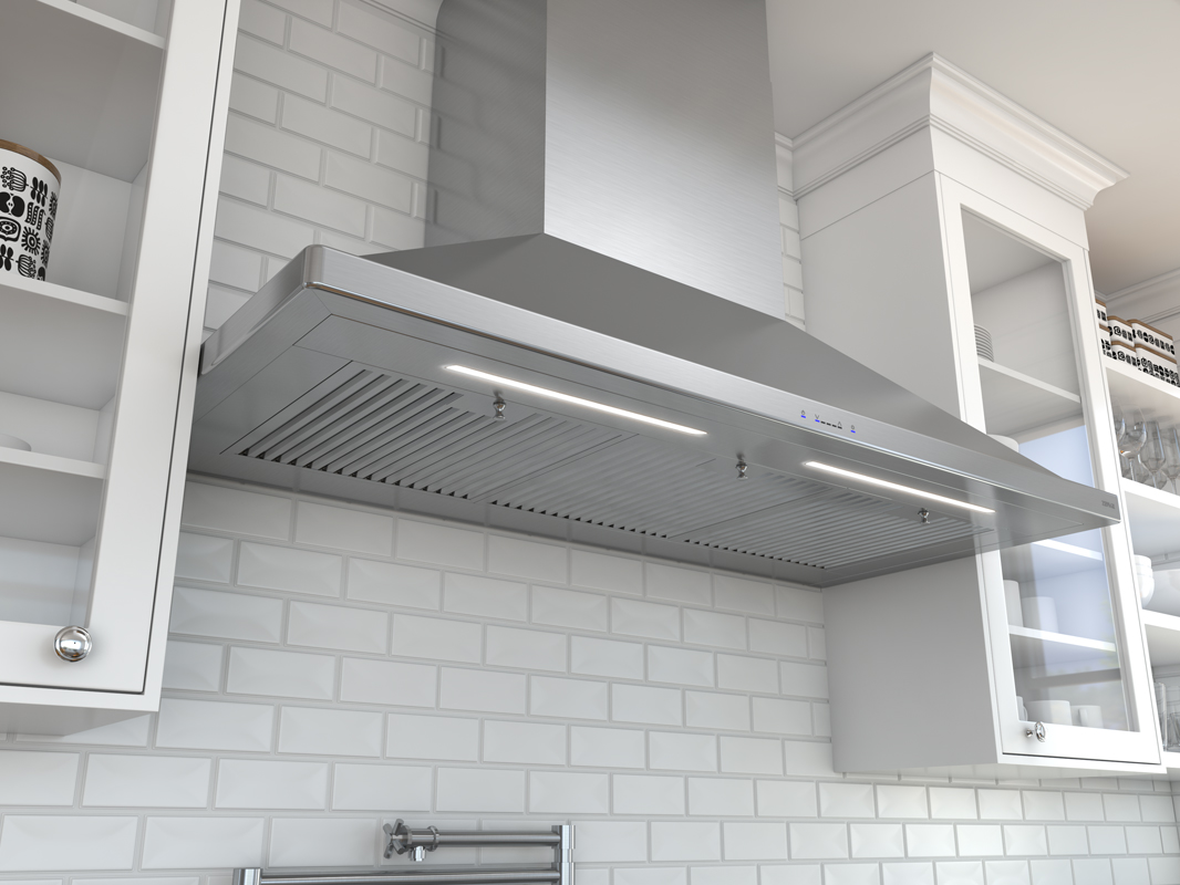 Siena Pro Wall Hood Core Collection Zephyr Ventilation
