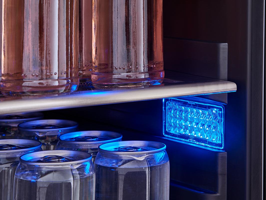 Zephyr Presrv™ 3-Color LED Lighting in Deep Blue