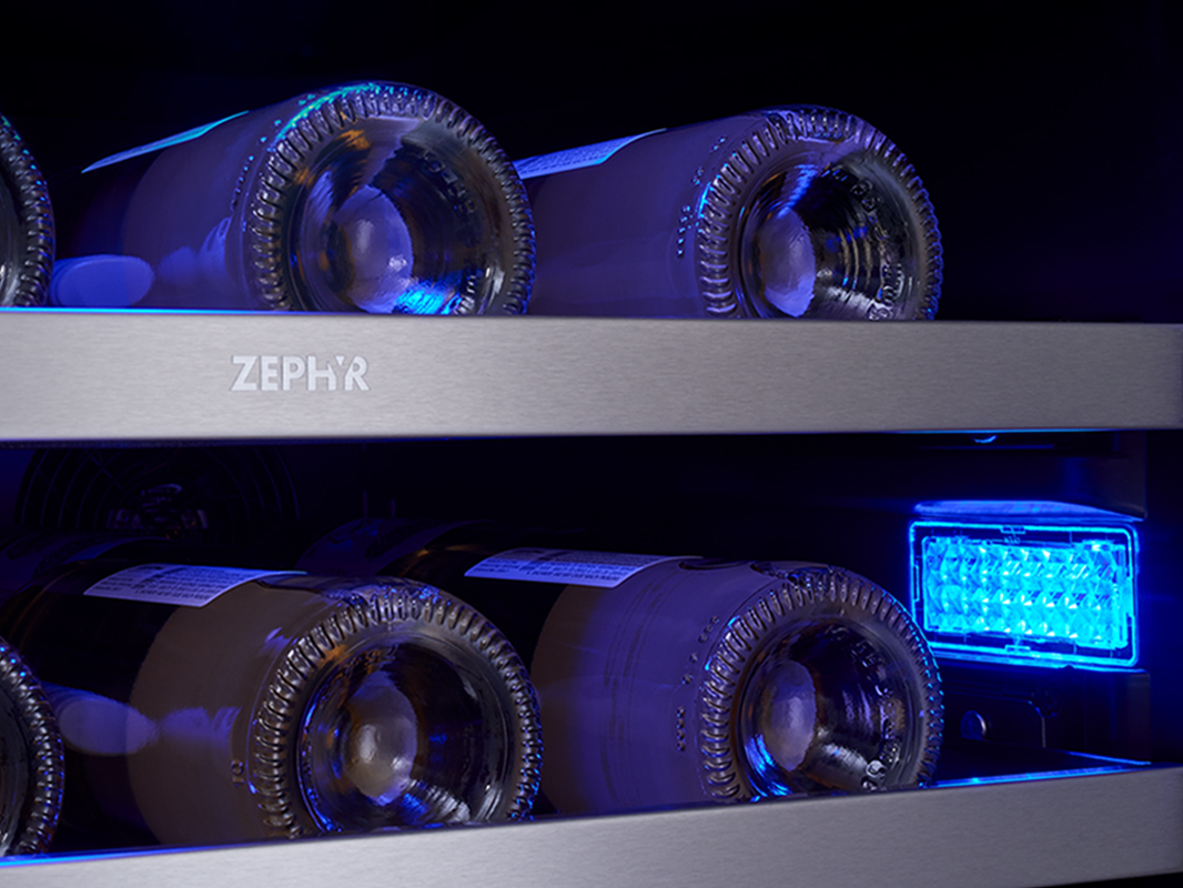 3 Color Led Lighting In Deep Blue
