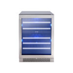 Dual Zone Wine Cooler model PRW24C02BG