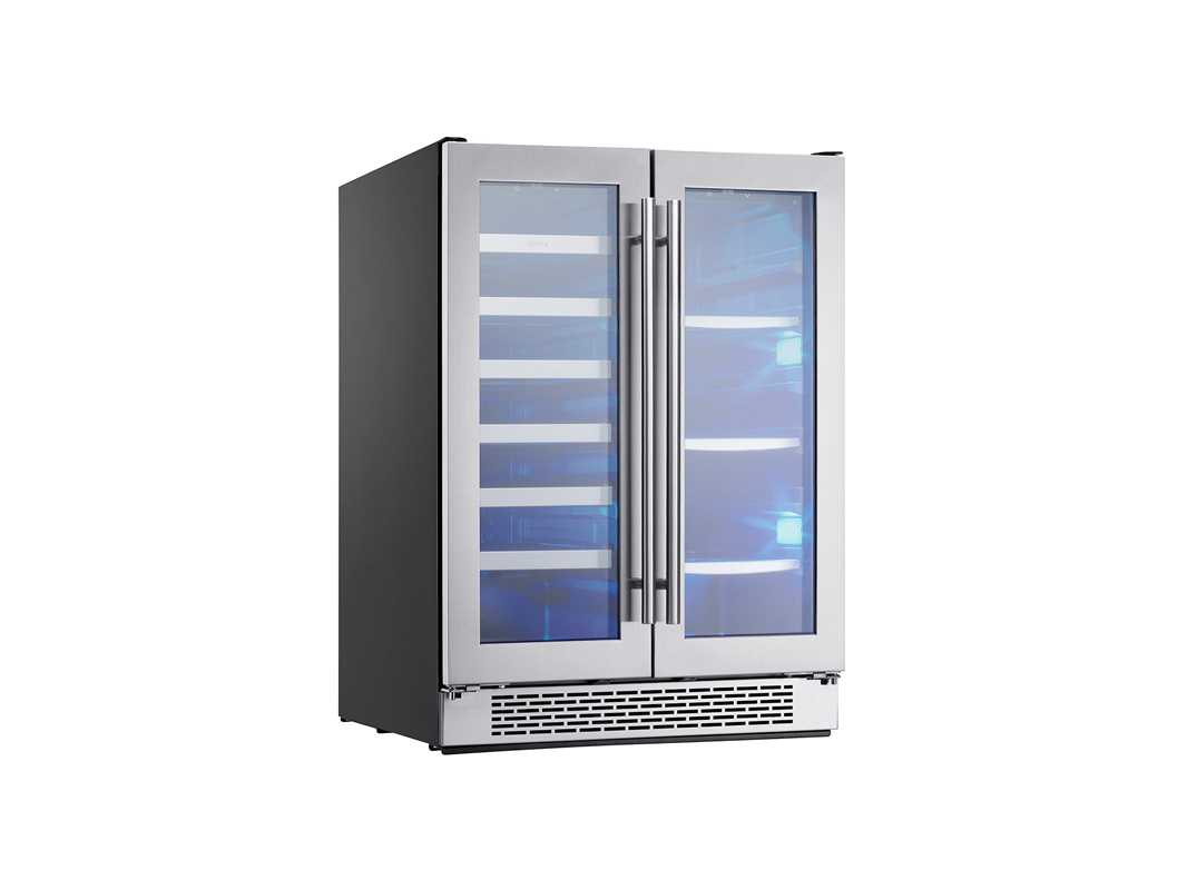 Home Wine Amp Beverage Coolers Wine Cooler Dual Zone French