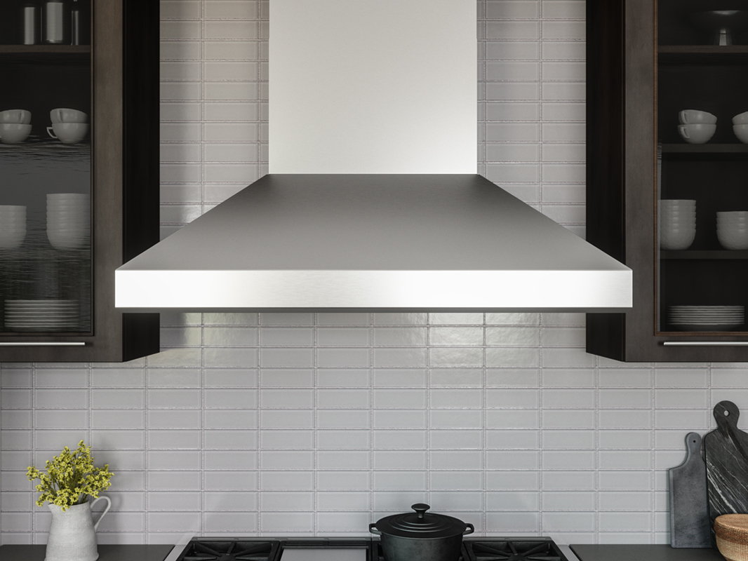 Kitchen hood wall mount range installation broan convertible.