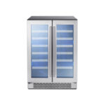 Dual Zone French Door Wine Cooler model PRW24C32AG