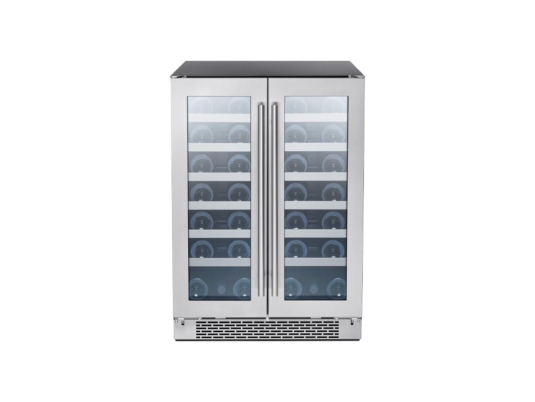 Zephyr Presrv™ Dual Zone French Door Wine Cooler