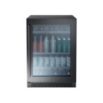 Single Zone Beverage Cooler – Black Stainless model PRB24C01ABSG