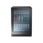 Single Zone Beverage Cooler – Black Stainless model PRB24C01ABSG