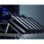 PRDISP-F001 5-Bottle Display Rack for Presrv™ Full Size Dual Zone Wine Cooler