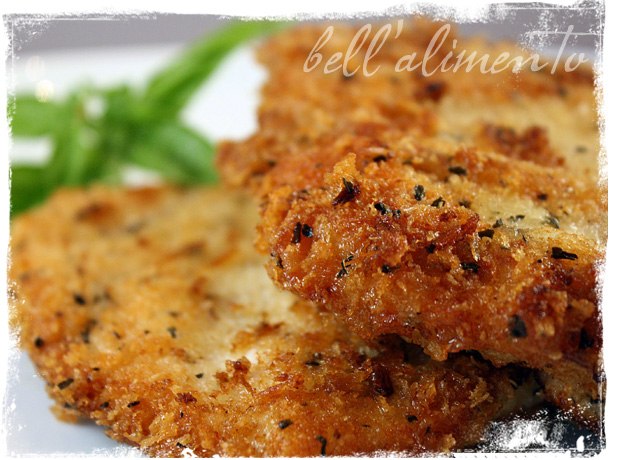 Parmigiano Panko Herb Encrusted Chicken