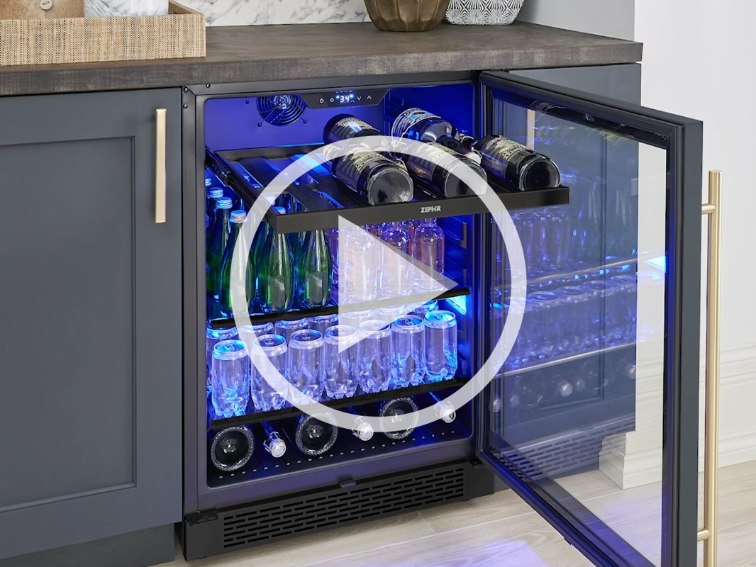 Zephyr Presrv™ Panel Ready Beverage Cooler product video