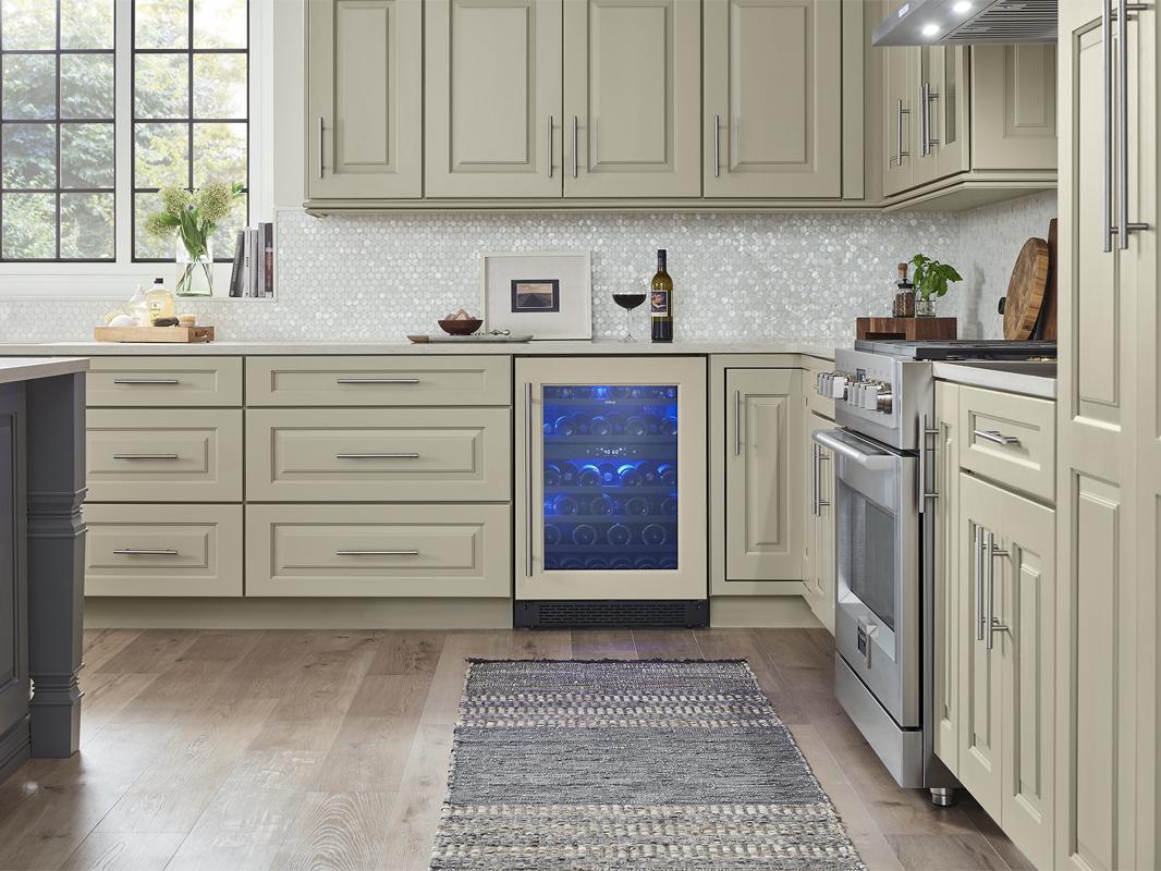 PRW24C02BPG; Zephyr Presrv™ Panel Ready Dual Zone Wine Cooler