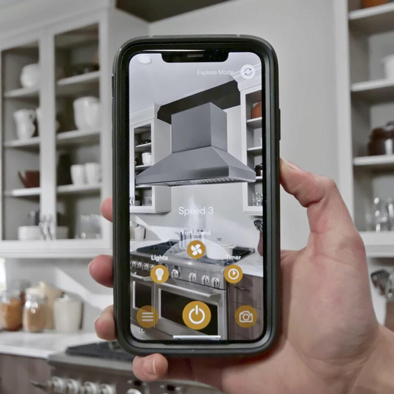 Zephyr Kitchen Experience App