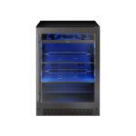 Black Stainless Single Zone Beverage Cooler model PRB24C01BBSG