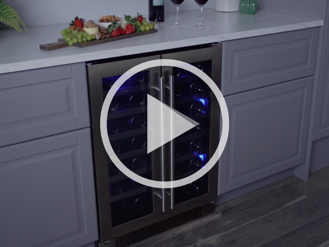 Zephyr Presrv™ French Door Wine Cooler