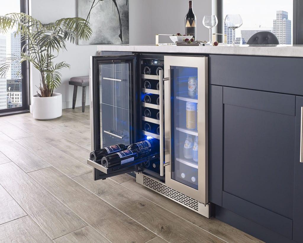 Zephyr Presrv™ French Door Wine & Beverage Cooler