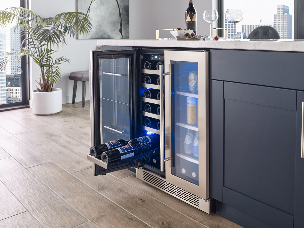 Zephyr Presrv™ French Door Wine & Beverage Cooler