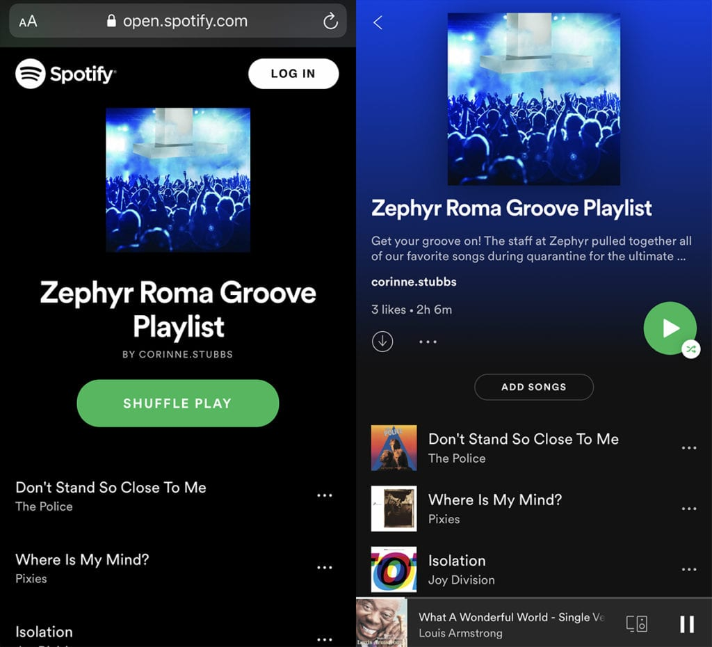 Zephyr Roma Groove Playlist; Zephyr Roma Groove range hood with built-in Bluetooth® stereo speakers