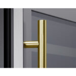 PRHAN-C102 Contemporary Door Handle in Brushed Gold
