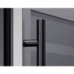 PRHAN-C104 Contemporary Door Handle in Matte Black