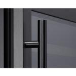 PRHAN-C104 Contemporary Door Handle in Matte Black for Presrv™ Black Stainless Wine & Beverage Coolers