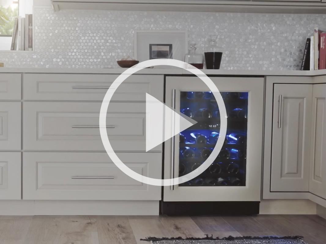 PRW24C02BPG - Zephyr Presrv™ Panel Ready Dual Zone Wine Cooler product video
