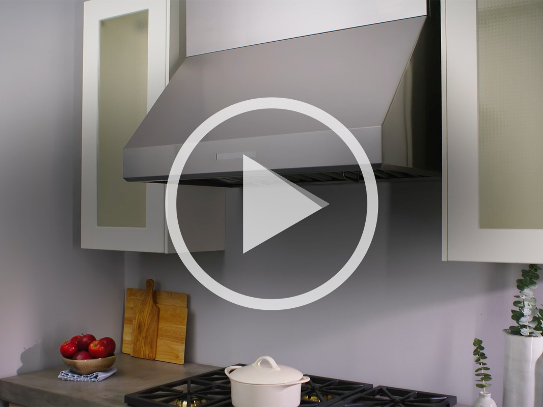 AK74 Tidal II Wall Range Hood with Zephyr Connect App compatibility