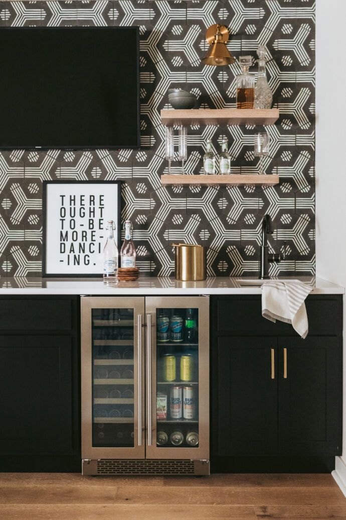 Designed by construction2style, featuring Presrv™ French Door Wine & Beverage Coolers