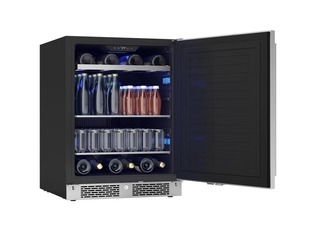 Zephyr Presrv™ ADA Single Zone Beverage Cooler With Solid Stainless Steel Door