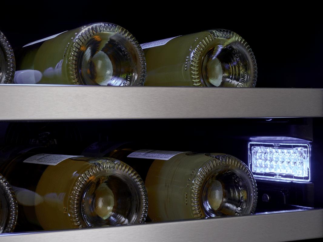Zephyr Presrv™ coolers 3-Color LED Lighting in Cloud White