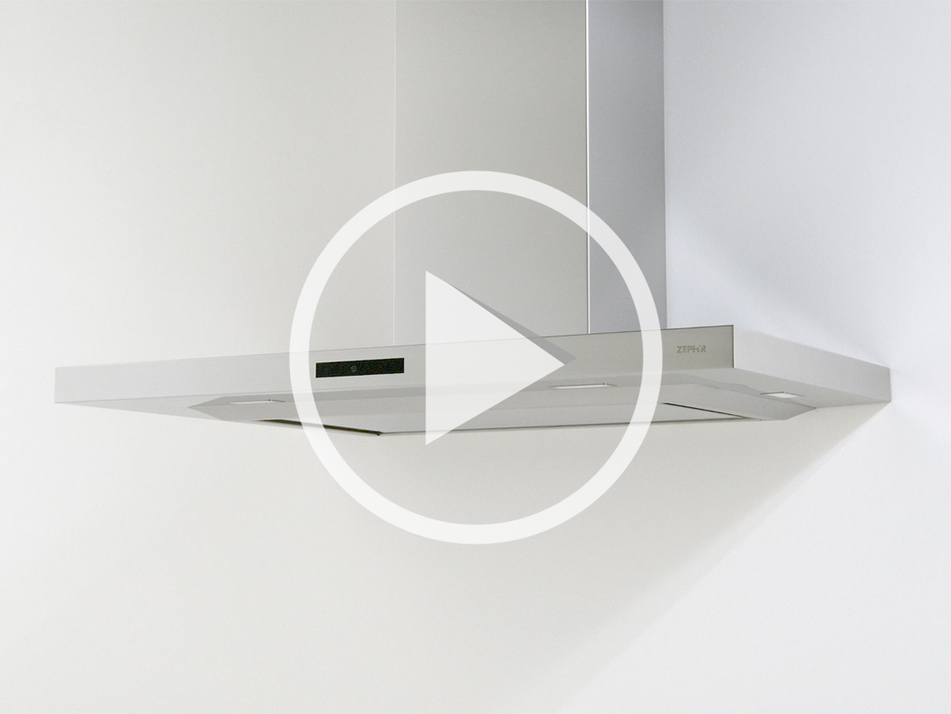 DLA - Zephyr Layers Wall Range Hood