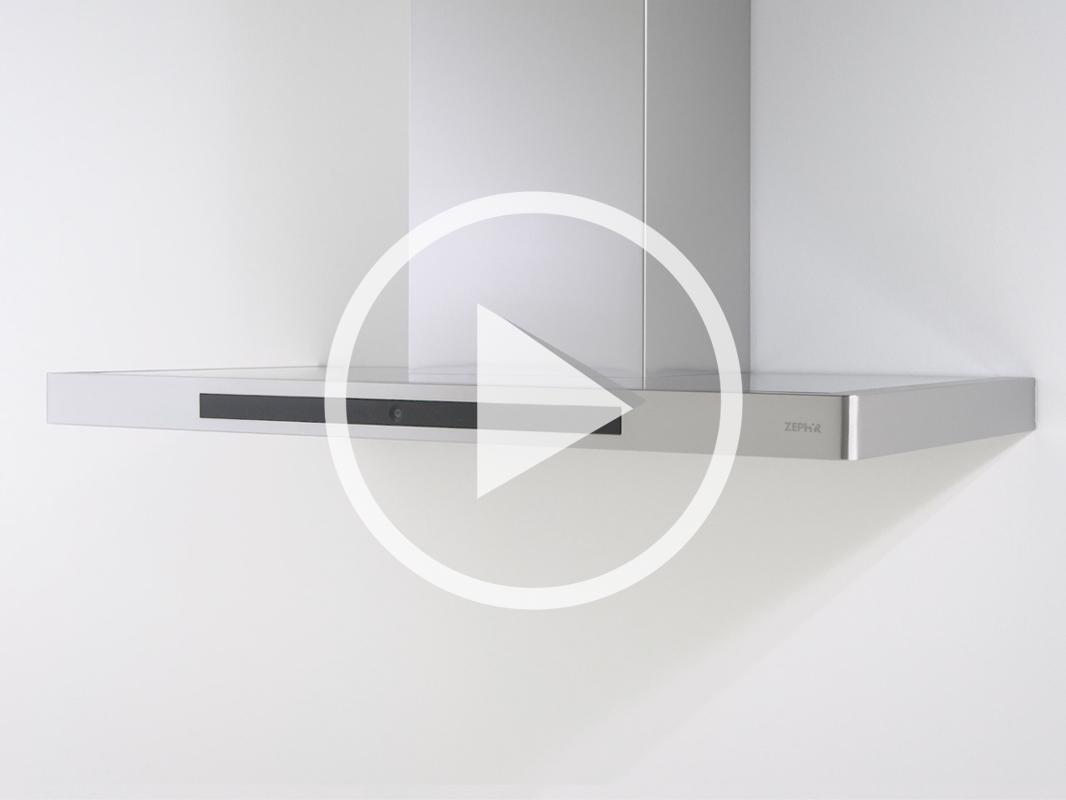DVS-A Zephyr Vista Wall Range Hood product video