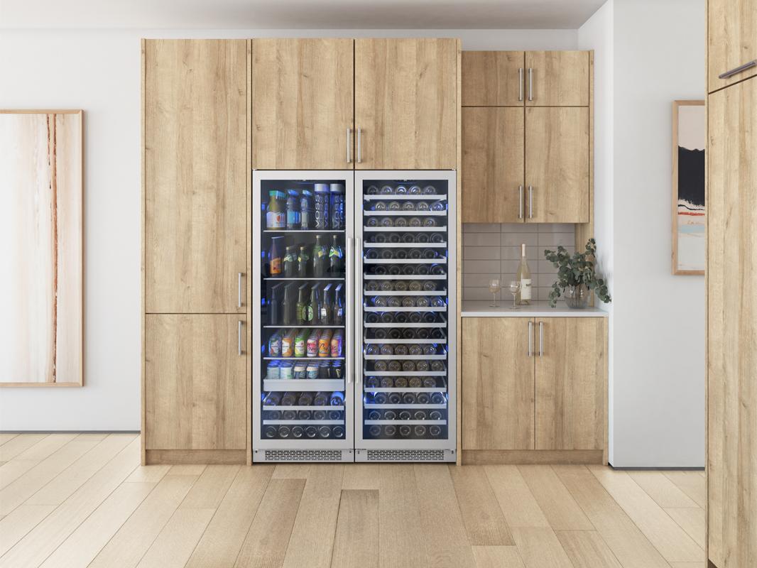 PRB24F01BG and PRW24F01BG; Zephyr Presrv™ Full Size Single Zone Beverage Cooler & Zephyr Presrv™ Full Size Single Zone Wine Cooler