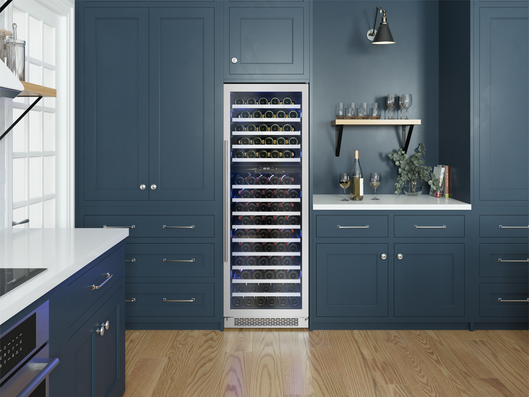 PRW24F02BG; Zephyr Presrv™ Full Size Dual Zone Wine Cooler